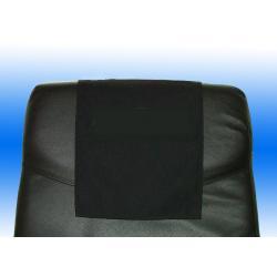 Kopfstützenlatzen schwarz PE/BW US F-Band